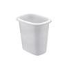 Rubbermaid Oval Vanity Wastebasket RHP 2953WHI