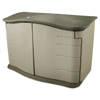 Metal Sheds 4 Foot: Rubbermaid Horizontal Outdoor Storage Shed