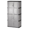 Metal Sheds 4 Foot: Rubbermaid Double-Door Storage Cabinet