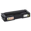 Ricoh Ricoh 406478 High-Yield Toner, 6000 Page-Yield, Yellow RIC406478