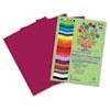 Roselle Paper Roselle Bright Colors Premium Sulphite Construction Paper RLP 74501