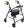 "Ring Panel Link Filters Economy: Compass Health Brands - ProBasics Economy Steel Rollator with 6"" Wheels, Blue"