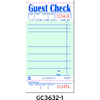 Royal Paper Guest Check Book RPP GC3632-1