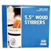 Royal Paper Wood Coffee Stirs RPPR810