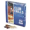 Royal Paper Cellophane-Frill Wood Picks RPP R812W