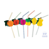 Royal Paper Fruit-Ring Drinking Straws RPP RS950F