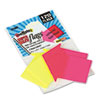 Redi Tag Redi-Tag® SeeNotes® Super Size Transparent Film Arrow Flags RTG 21095