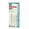 Redi Tag Redi-Tag® Easy-To-Read Side-Mount Self-Stick Plastic Index Tabs RTG 31001