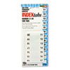 Redi Tag Redi-Tag® Easy-To-Read Side-Mount Self-Stick Plastic Index Tabs RTG 31002