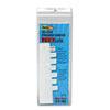Redi Tag Redi-Tag® Easy-To-Read Side-Mount Self-Stick Plastic Index Tabs RTG 31010