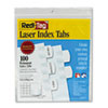 Redi Tag Redi-Tag® Laser and Inkjet Printable Index Tabs RTG 33117