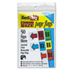 Redi Tag Redi-Tag® Removable/Reusable Standard Page Flags Value Pack RTG 76830
