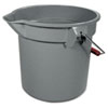 Rubbermaid Commercial Brute® Utility Pail RCP2614GRA
