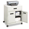 Cake Pie Covers Stands: Safco® Steel Machine Stand with Pullout Drawer