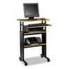 computer workstations: Safco® Muv™ Stand-Up Adjustable-Height  Desk