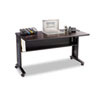 computer workstations: Safco® Mobile Computer Desk with Reversible Top