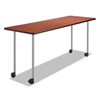 table bases: Safco® Impromptu® Series T-Leg  Post Leg Table Base
