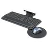 Safco Safco® Adjustable Keyboard Platform with Swivel Mouse Tray SAF 2135BL