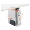 Safco Safco® Ergo-Comfort® Swivel-Mount Under CPU Stand SAF 2175