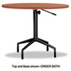 Safco Safco® RSVP Table Top Only 36 Diameter SAF 2653CY