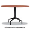 Safco Safco® RSVP Table Top Only 42 Diameter SAF 2654CY