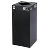 Safco Safco® Public Square® Recycling Receptacles SAF 2982BL