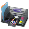 Safco Safco® Onyx™ Organizer with Three Drawers SAF 3252BL