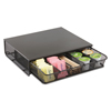 Safco Safco® Onyx™ One Drawer Hospitality Organizer SAF 3274BL