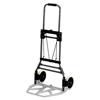 utility carts, trucks and ladders: Stow-Away Medium Hand Truck, 275lb Capacity, 19w x 17 3/4d x 38 3/4h, Aluminum
