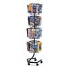 Safco Safco® Wire Rotary Display Racks SAF 4128CH
