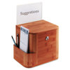 Safco Safco® Bamboo Suggestion Boxes SAF 4237CY