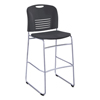 Safco Safco® Vy™ Sled Base Bistro Chair SAF 4295BL