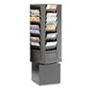 Safco Safco® Steel Rotary Magazine Rack SAF 4324BL