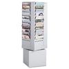Safco Safco® Steel Rotary Magazine Rack SAF 4324GR