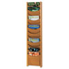 Safco Safco® Solid Wood Wall-Mount Literature Display Rack SAF4331MO