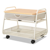 Safco Safco® Onyx Under Desk Machine Stand SAF 5208WH
