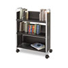 Safco Safco® Scoot™ Single-Sided Steel Book Cart SAF 5336BL