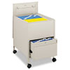 Safco Safco® Locking Mobile Tub File with Drawer SAF 5365PT