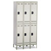 Safco Safco® Double-Tier Lockers SAF 5526GR