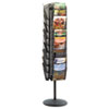 Safco Safco® Onyx™ Mesh Rotating Magazine Display SAF 5577BL