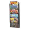 Safco Safco® Onyx™ Mesh Literature Rack SAF 5578BL