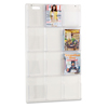 Safco Safco® Reveal™ Clear Literature Displays SAF 5602CL