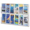 Safco Safco® Reveal™ Clear Literature Displays SAF 5604CL
