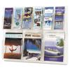 Safco Safco® Reveal™ Clear Literature Displays SAF 5605CL