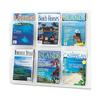 Safco Safco® Reveal™ Clear Literature Displays SAF 5607CL