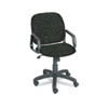 Safco Safco® Cava® Urth™ Collection High Back Swivel/Tilt Chair SAF 7045BL