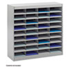 Safco Safco® E-Z Stor® Literature Organizers with Steel Frames and Shelves SAF 9221GRR