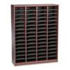 Safco Safco® Wood E-Z Stor® Literature Organizers SAF 9331MH