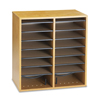Safco Safco® Adjustable Compartment Wood Literature Organizers SAF 9422MO