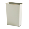 Safco-trash-receptacles: Safco® Square and Rectangular Fire-Safe Wastebaskets